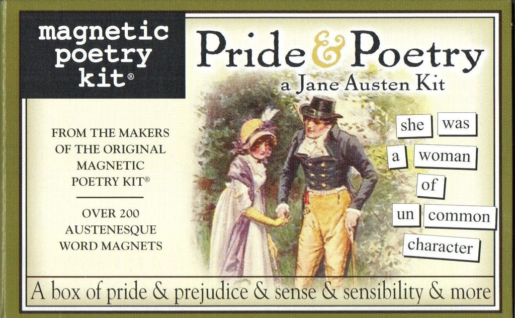 Pride & Poetry Jane Austen Kit