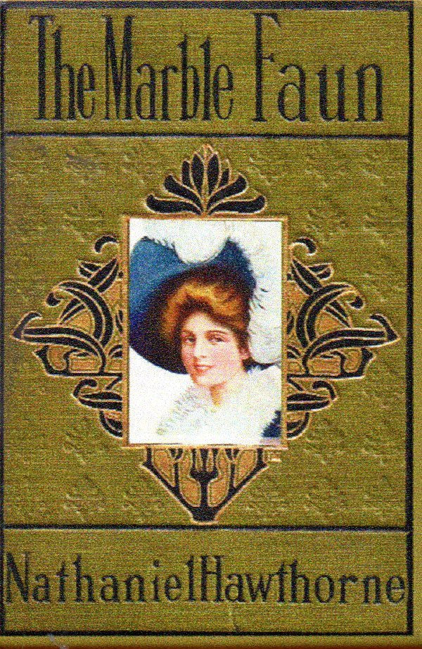 The Marble Faun Antique Book Cover Magnet