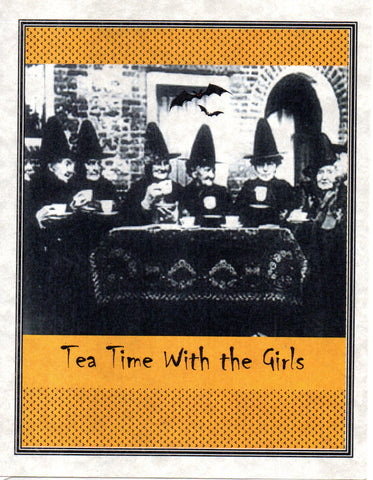 Tea Time with the Girls Note Card