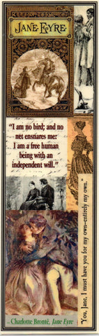 Jane Eyre Collage Bookmark