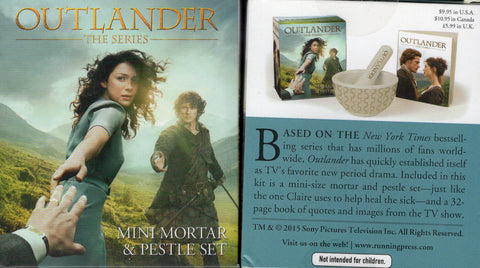 OUTLANDER Mini Mortar & Pestle Set