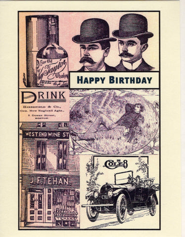 Gentleman's Happy Birthday Card