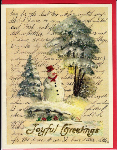 """Dear Rose...1888 Letter"" Christmas Card Bundle ~ 10-Card Pack"