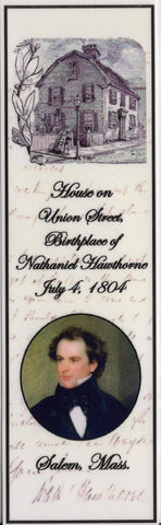 Hawthorne Birthplace Bookmark