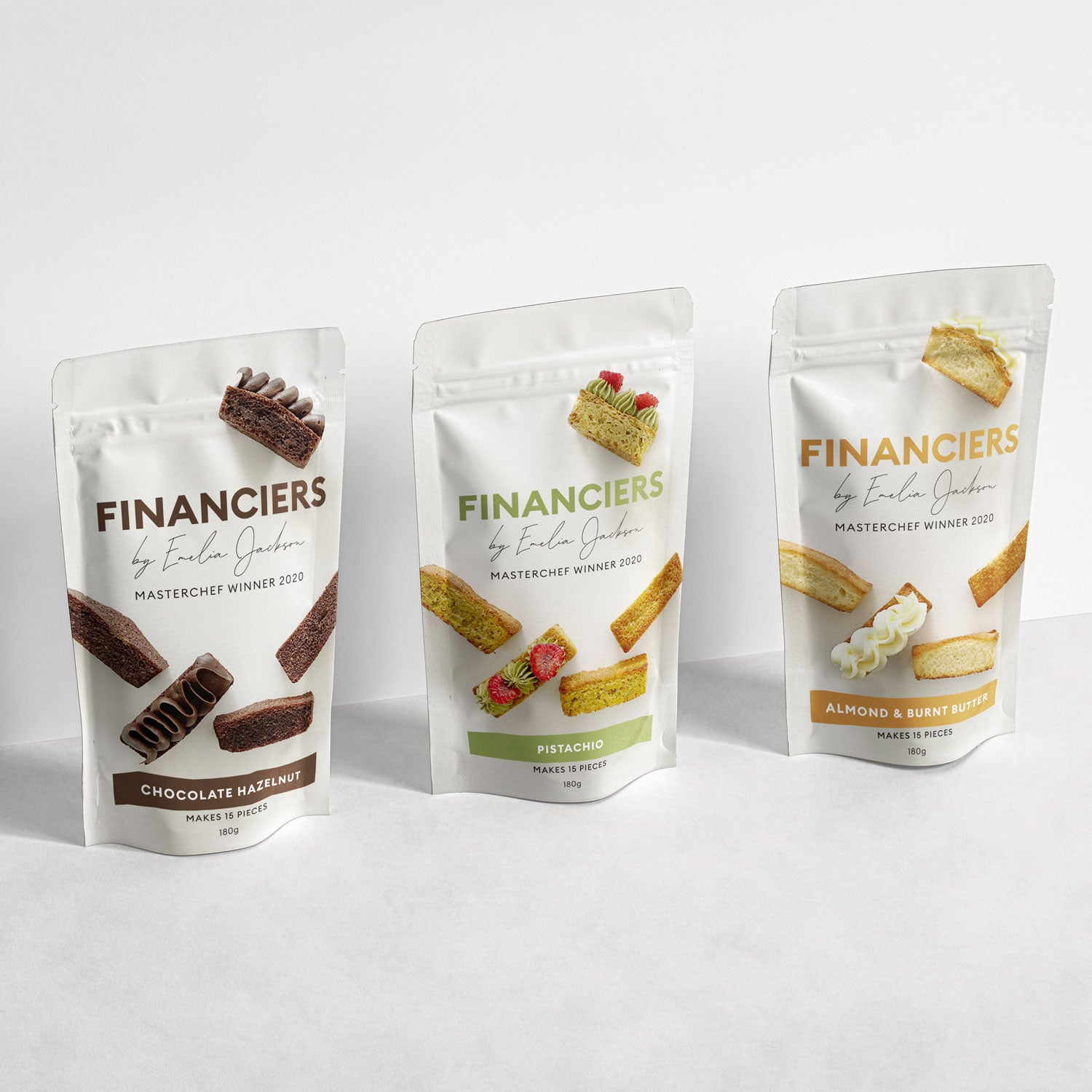 Financiers (3 Flavours) - PREORDER MARCH 21ST