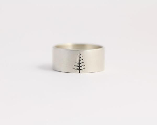 Oregon Pine Ring - Wide