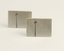 Cabbage Tree Cufflinks, [product_type} - Ash Hilton Jewellery