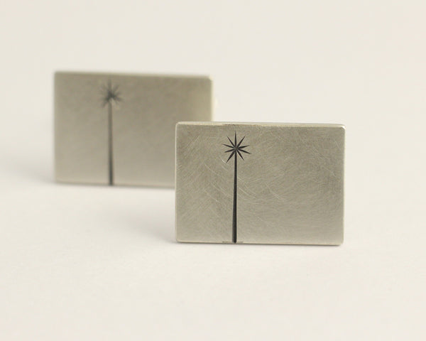 Cabbage Tree Cufflinks