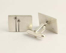 Two Cabbage Trees Cufflinks, [product_type} - Ash Hilton Jewellery