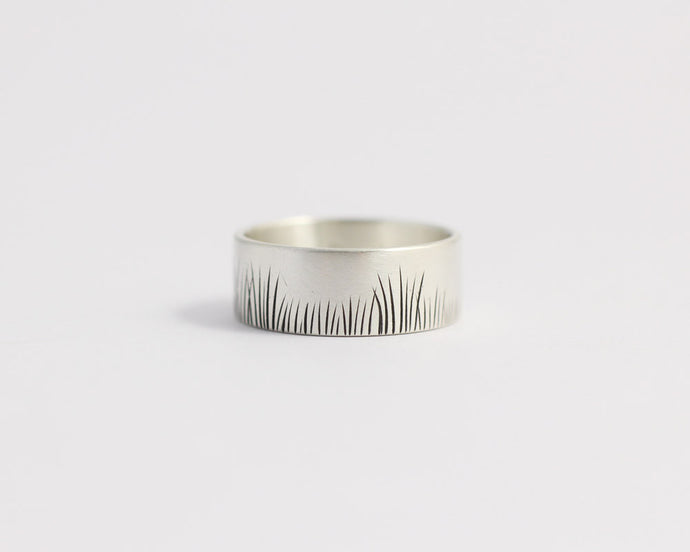 Native Grasses Ring - Medium, [product_type} - Ash Hilton Jewellery