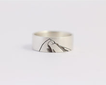 Mountain Ring - Wide, [product_type} - Ash Hilton Jewellery