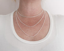 Woodland & Diamond Drop Necklace in Rose Gold, [product_type} - Ash Hilton Jewellery
