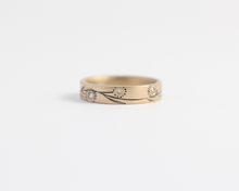 Blossom Ring in Yellow Gold - Medium, [product_type} - Ash Hilton Jewellery