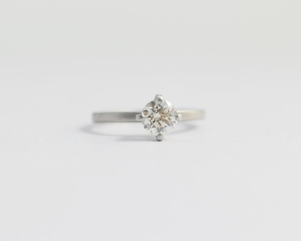 gold carat solitaire diamond side ring in engagement en with diamonds white rings
