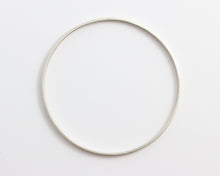 White Gold/Silver Bangle, [product_type} - Ash Hilton Jewellery