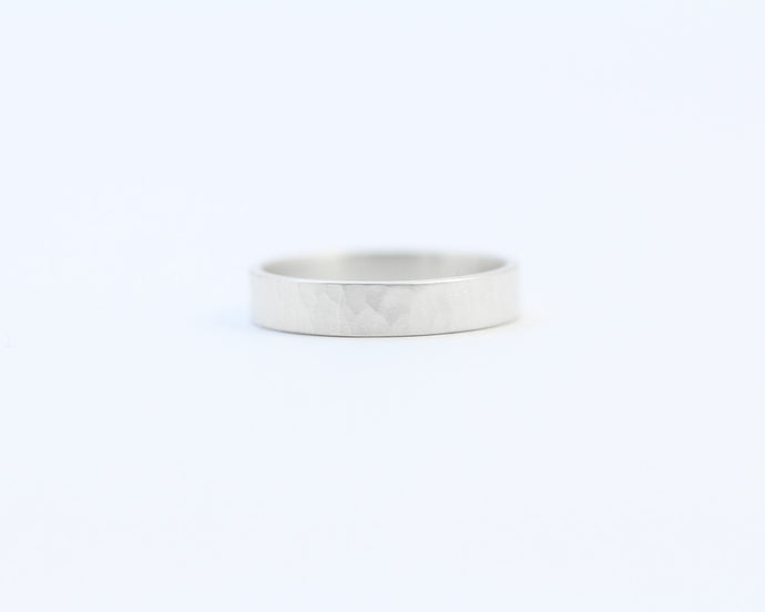 Hammered Ring - Medium, [product_type} - Ash Hilton Jewellery