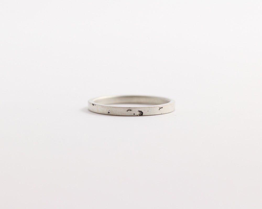 Distressed Ring - Narrow, [product_type} - Ash Hilton Jewellery