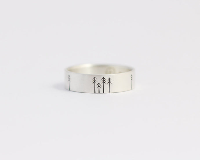 Pine Forest Ring - Medium, [product_type} - Ash Hilton Jewellery