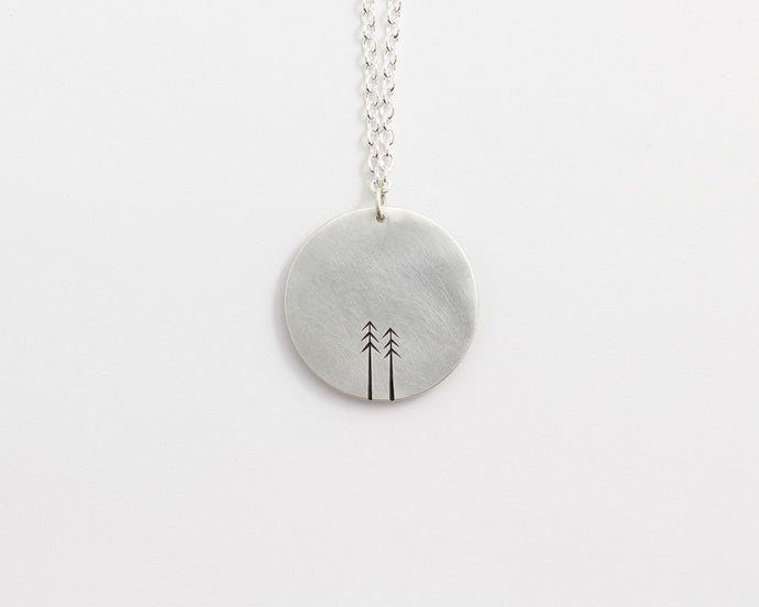 Round Woodland Necklace - Large, [product_type} - Ash Hilton Jewellery