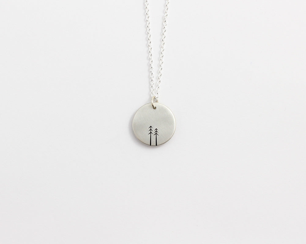Round Woodland Necklace - Small, [product_type} - Ash Hilton Jewellery