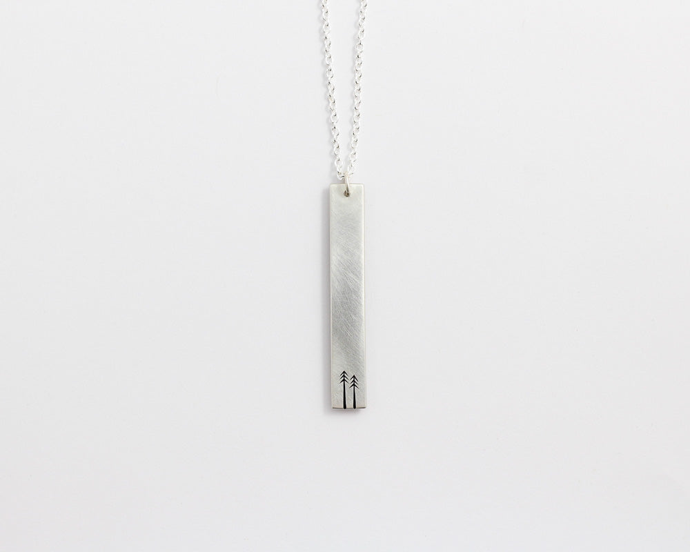 Woodland Drop Necklace, [product_type} - Ash Hilton Jewellery