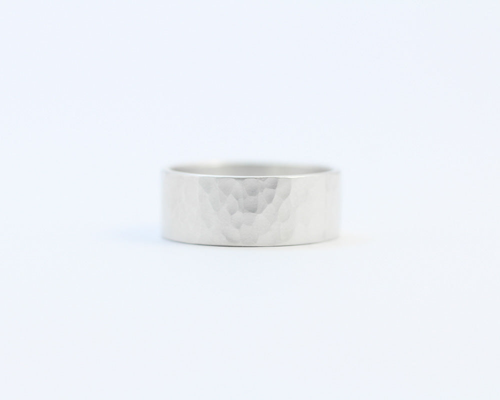 Hammered Ring - Wide