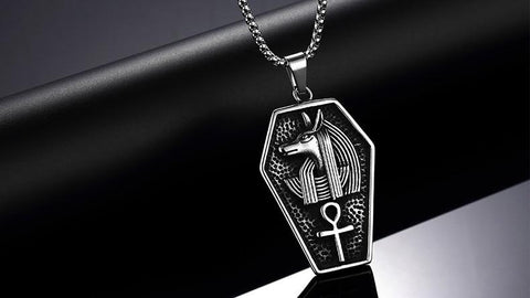 Ancient Egypt Anubis Necklace - TheNineOneOne