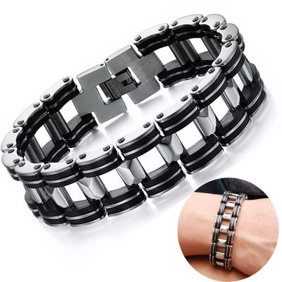 Bicycle Chain Bracelet - TheNineOneOne