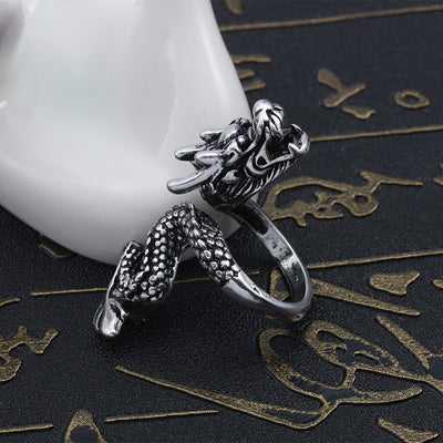 Titanium Dragon Adjustable Ring