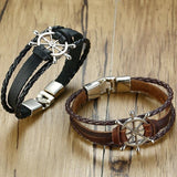 Leather Bracelet for Sailor - TheNineOneOne
