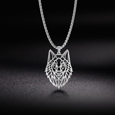 Wolf Necklace with Three Color Option