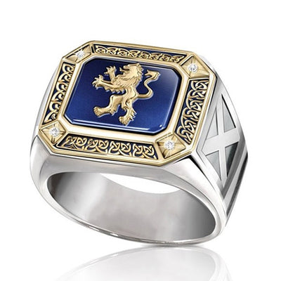 Vintage Lord Dynasties Symbol Lion Ring