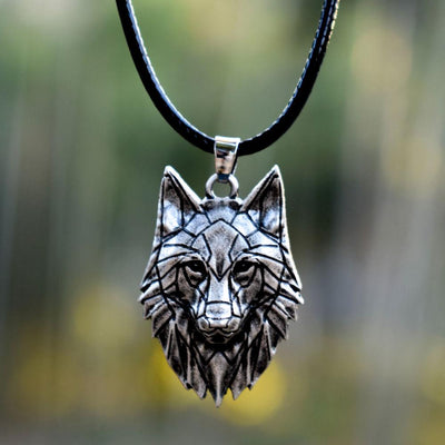 Origami Wolf Necklace - TheNineOneOne