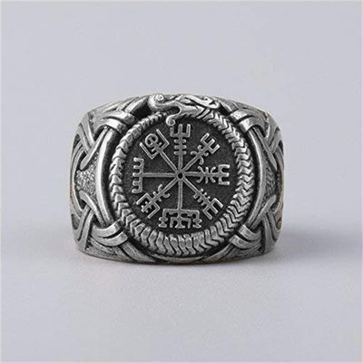 Viking Vegvisir Ring