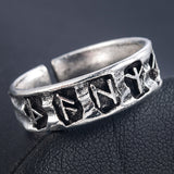 Retro Viking Amulet Ring