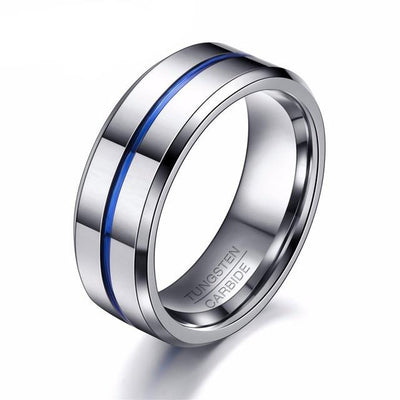 Elegant Tungsten Ring - TheNineOneOne