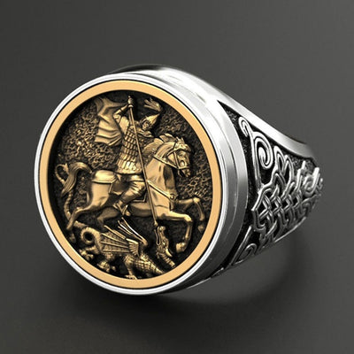 Speared Cavalry with Dragon Ring