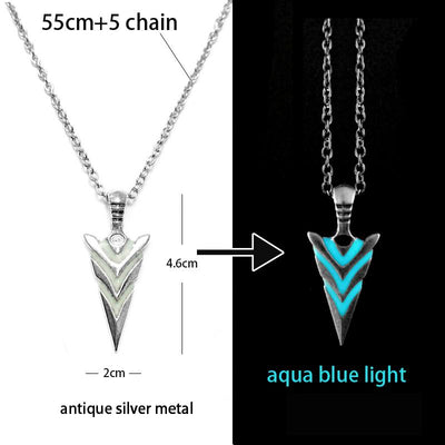 Glowing Arrow Pendant - TheNineOneOne