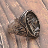 Viking Lighthouse Ring