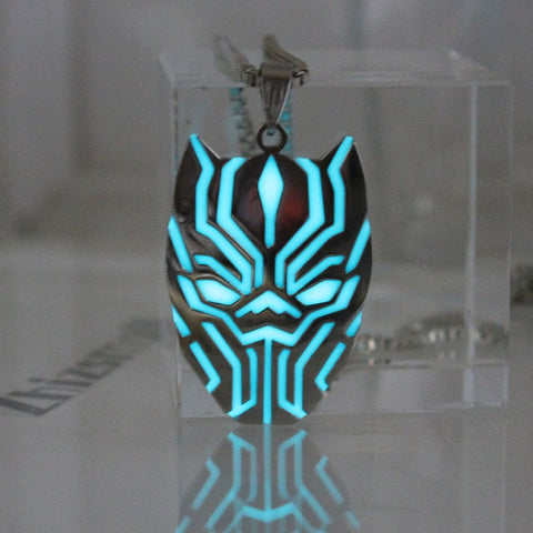 Glow in the Dark T'Challa Necklace