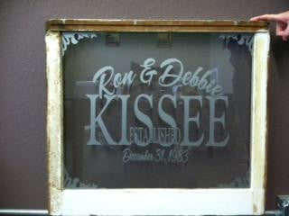 Personalized Window Decor