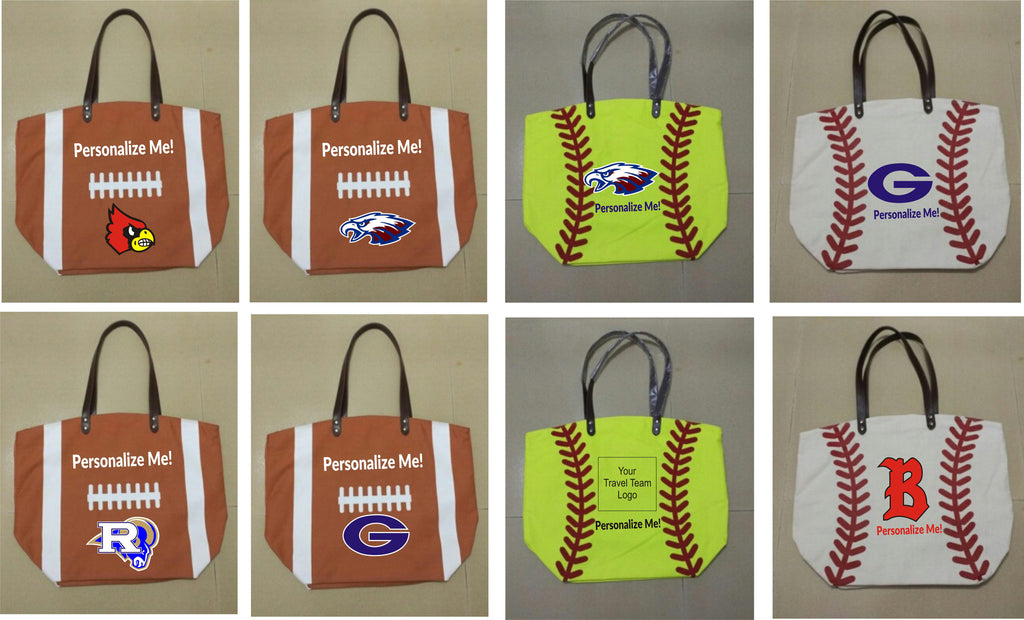 Personalized Sport Totes
