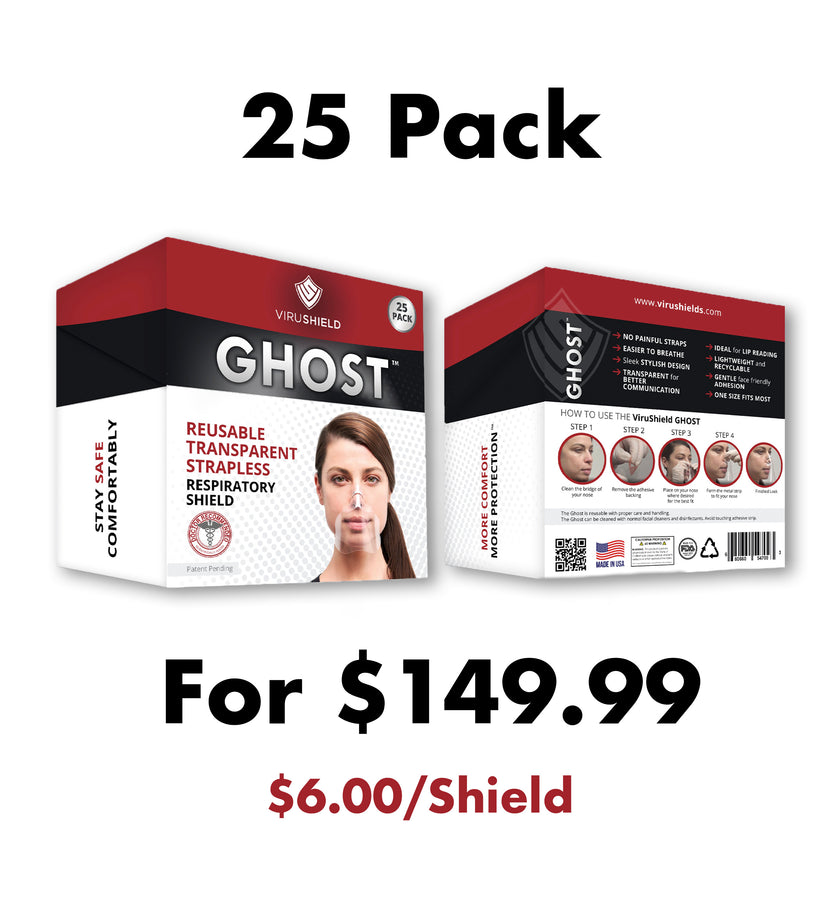 ViruShield Ghost™ 25 Pack