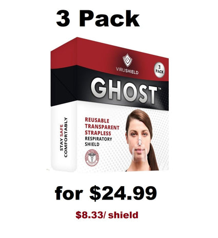 ViruShield Ghost™ 3 Pack