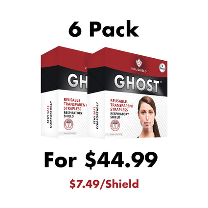 ViruShield Ghost™ 6 Pack