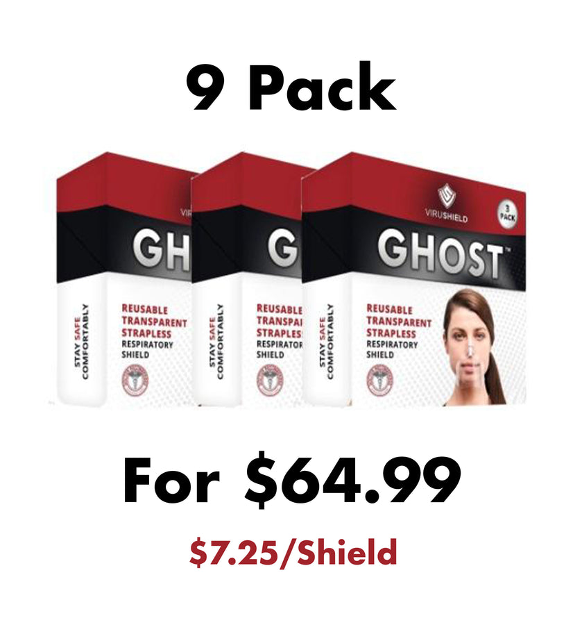 ViruShield Ghost™ 9 Pack