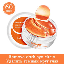 Load image into Gallery viewer, LANBENA Eye Mask Collagen Eye Patch Skin Care Hyaluronic Acid Gel Moisturizing Retinol Anti Aging Remove Dark Circles Eye Bag