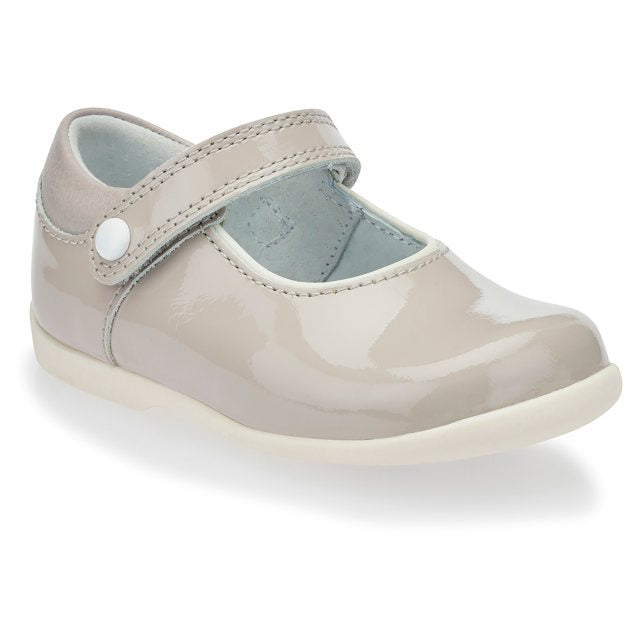 Start Rite Slide Shoes Grey Patent