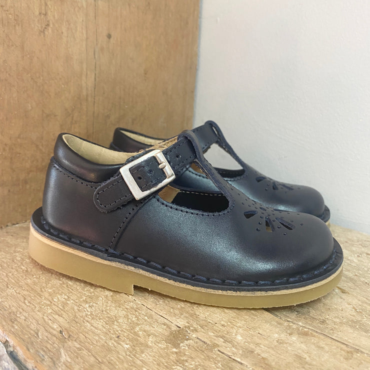 Start Rite Lottie Shoes Navy