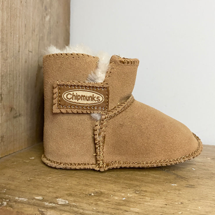 Chipmunks JoJo Boots Tan
